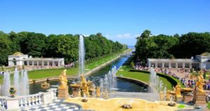 Jardin du palais de peterhof