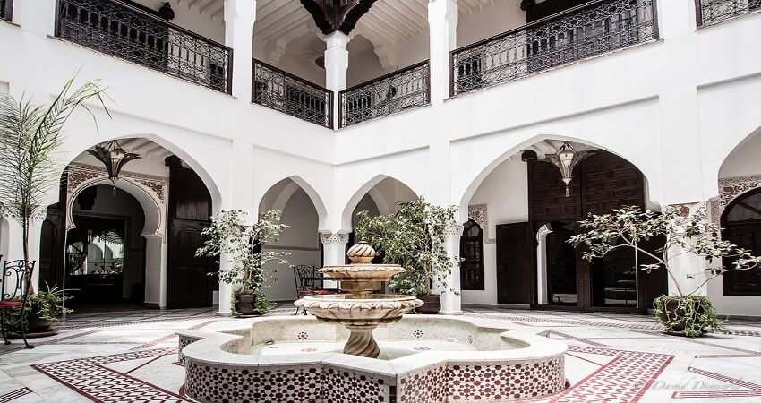 jardin riad de marrakech